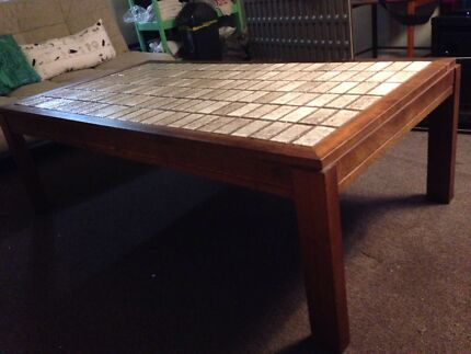 Large tiled top coffee table Coogee Eastern Suburbs Preview