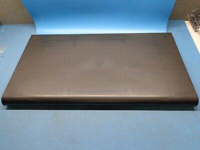 4 13 X 24 - Black Bullnose Plastic Store Shelf Gridwall Slatwall 62103