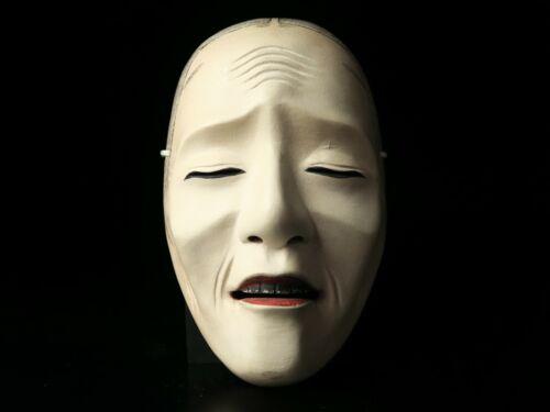 Free shipping Noh mask UBA Bugaku Gigaku Kyougen Japanese