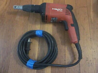 Hilti Sd4500 14 Drywall Screw Gun Screwdriver 6.5a Excellent Used Cond Freesh