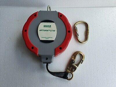 Msa Aptura Lt30 Self-retracting Lanyard - Safety Lifeline New