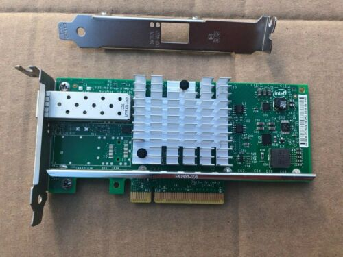 Intel X520-DA1 10Gb 10Gbe 10 Gigabit Network Adapter NIC E10G41BTDA PG1P5