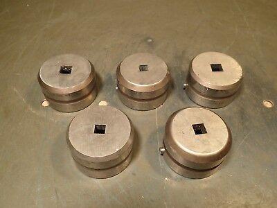 5 Pc Wilson Tool Metal Punch Press Dies .250 .045 .280 012 060 .375 .012x2