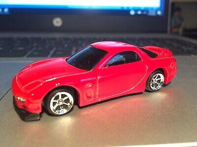 Hot Wheels Street Mazda RX7 w/Custom Six Spoke Wheels w/Real Riders. Kmart Only.