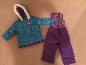 Ski / snow suit / jacket and pants size 2 toddler