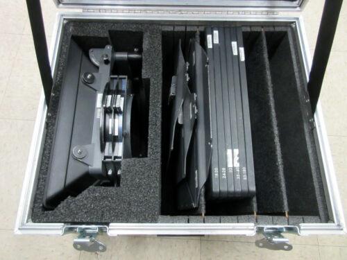 "Arri 6.6x6.6"" MB-14 Matte Box Kit 15mm With Flight Shipping Case Arriflex"