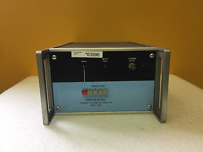 Spectracom 8140 Opt 07 0.1 To 10 Mhz Frequency Distribution Amplifier Parts