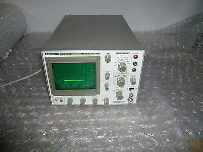 Leader Oscilloscope Lbo 510b Used In A Good Condition