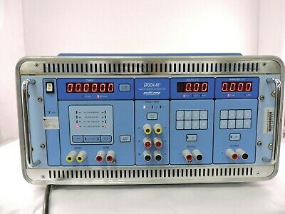 Megger Epoch-40 Multi-amp Dynamic Timerdc Relay Test Set - 90 Day Warranty