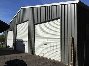 Sourthern Cross Shed 3 Roller Doors Large Maroochy River Maroochydore Area Preview