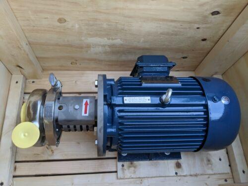 Inline Emulsifier Homogenizer, 250 gpm max, 10 hp