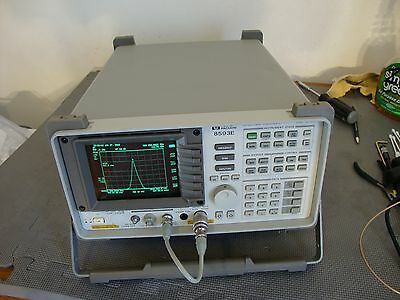Hp Agilent 8593e Spectrum Analyzer W Various Options 9 Khz - 26 Ghz Pick Opts