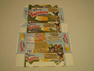Hostess  Pre Bankruptcy Interstate Brands  Twinkies Shrek Donkey Collectible Box