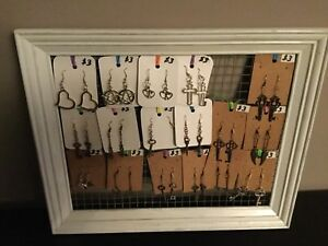 Earrings and necklaces 3 to 5 dollars each