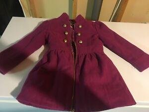 Manteau hiver fillette