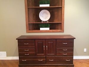 Stunning solid wood buffet/side table