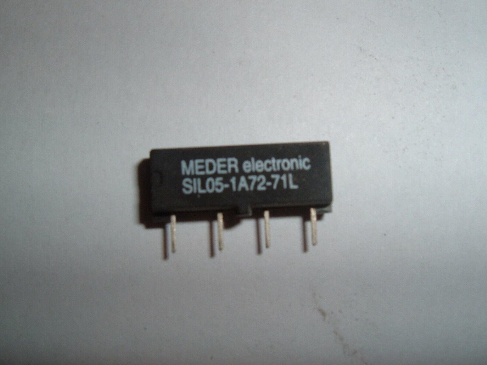 Meder Reed Relais SIL05-1A72-71L,5V,1x EIN,500 Ohm,ohne Diode