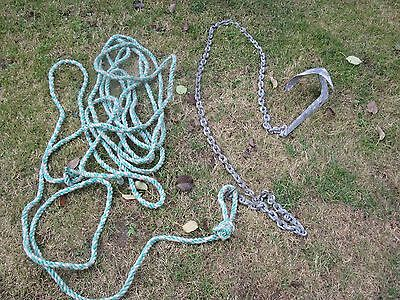 """ANCHOR /CHAIN/ROPE """"Y"""" BRUCE 1 KG."""