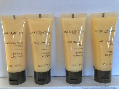 4 Anne Semonin Paris Botanical Conditioner 1.35oz (40m) Each Total 5.4oz Tv Size