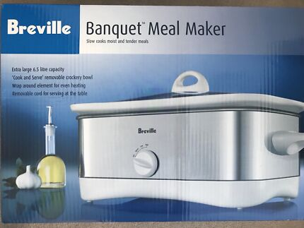 breville banquet meal maker manual