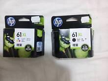 HP 61XL colour and black printer cartridges Dalyellup Capel Area Preview