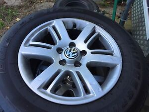 Vw amarok rims and tyres Neath Cessnock Area Preview