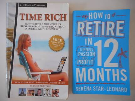 2 Self-help money guide books for $2 for both