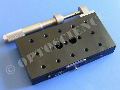 Newport 443 Precision Linear Translation Stage With Sm-50 Micrometer