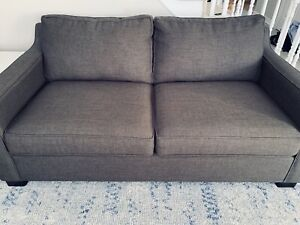 Canadian made sofas. Brown/gray