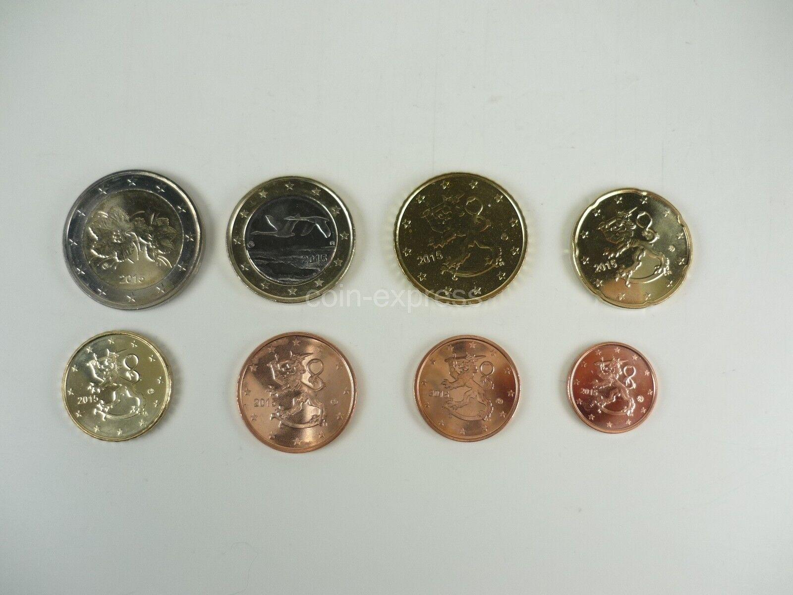 *** EURO KMS FINNLAND bankfrisch Kursmünzensatz Auswahl aus diversen Jahren !!!