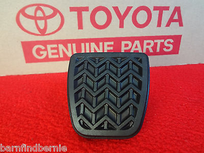 - Toyota Brake or Clutch Pedal Pad Camry Corolla Solara Matrix Manual Trans OEM