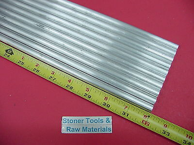 10 Pieces 38 Aluminum 6061 Round Rod 32 Long T6 .375 Solid Lathe Bar Stock