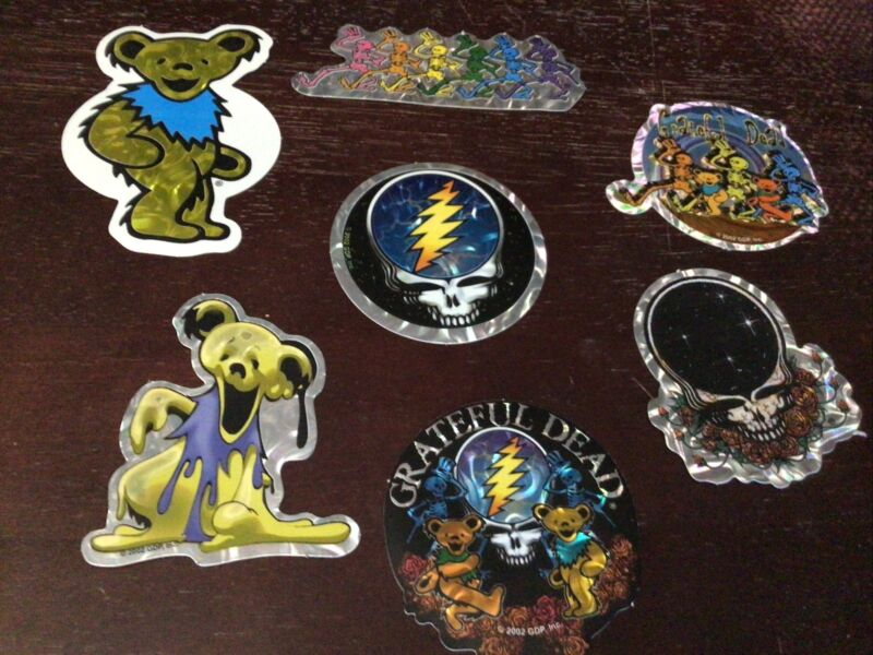 Lot of 140 New Grateful dead  Quality Decal Sticker Jerry Garcia