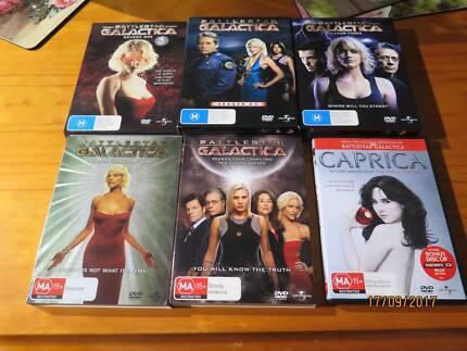 Battlestar Galactica Seasons 1-4 dvd set