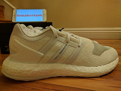 bca3636e5 ... DS Adidas Y-3 Pure Boost Crystal White Black Size 10.5 Y3 BY8955 фото  ...