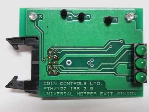 Money Controls   Coin Controls  Universal Coin Hopper Exit Window Board
