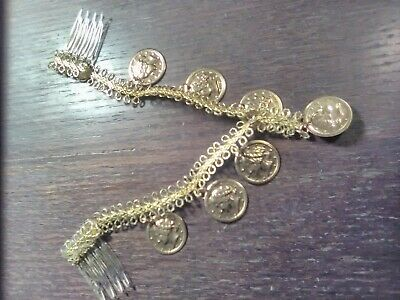 Shop~Alexanders Costumes Coin Forehead Piece~LAST ONE~REDUCED!!