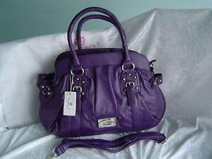 Gussaci Designer Tasche lila Nr.6