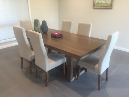 6 brand new dining chairs. Half price