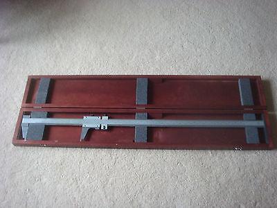 Starrett No.123 Caliper 38 In Wooden Case