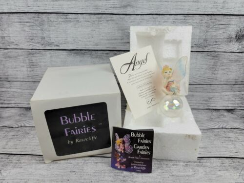 "Rawcliffe Bubble Fairies Ornament ""Angel"" (#10)"