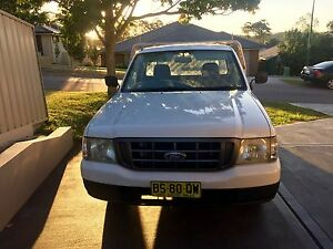 2004 Ford Courier Single Cab Ute, Excellent Cond., Aluminium Tray Fletcher Newcastle Area Preview