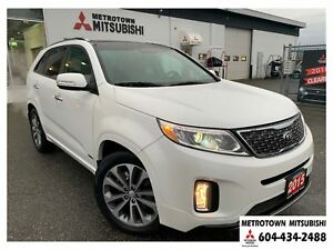2015 Kia Sorento SX; Local BC vehicle! LOW KMS!