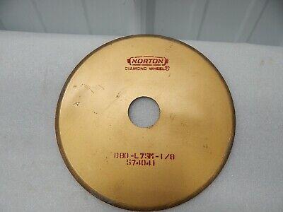 Norton Diamond Wheel 7 Grinding Wheel 1.25 D80-l75m-18 .042 Thick 574041