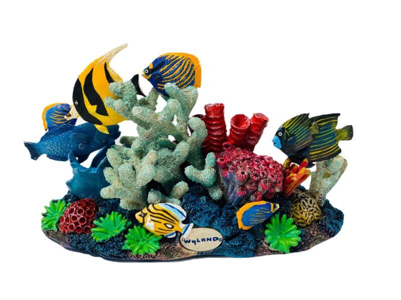 Dakin Artist Rare Collection Wyland Beautiful Reef Life Figure Nautical
