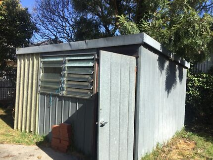 steel shed VERY CHEAP