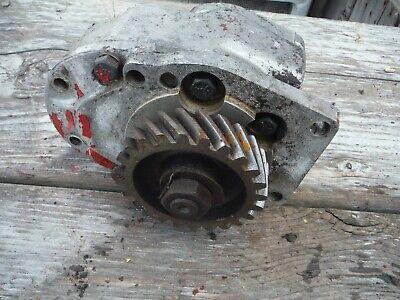 Ih Farmall Sh 300 350 Tractor Hydraulic Pump With Gear