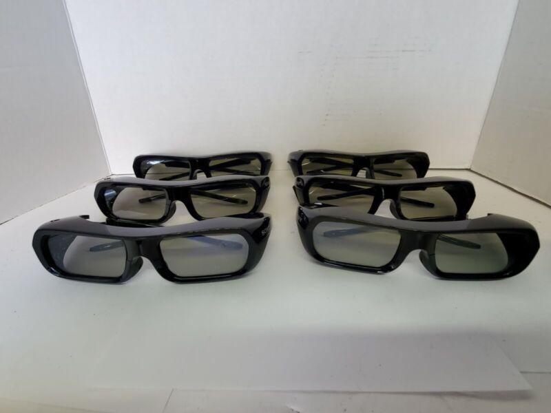 SONY TDG-BR250 3D Glasses/Lunettess/Okulary/Occhiali 3D Bravia, USED x6
