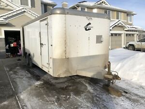 20ft x 8.5ft car trailer
