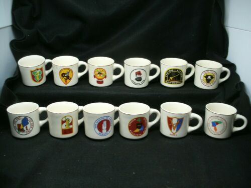 12 BSA Boy Scouts of America Region Mug Cup Set (each different for the regions)